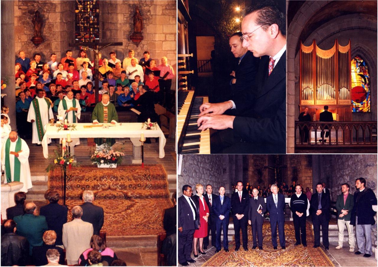 22 octobre 2000: Bénédiction et Inauguration
