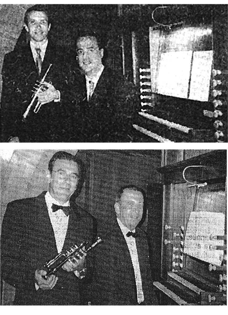 de 2001à 2003: Trompette et orgue