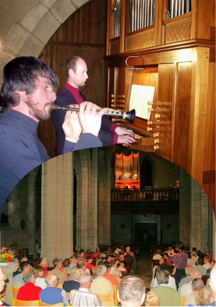 août 2005 : Bombarde celtique et orgue