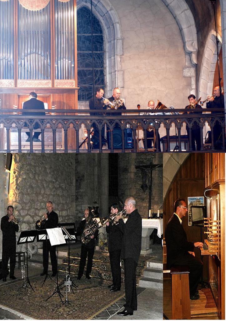 août 2007: Quintette de cuivres et orgue