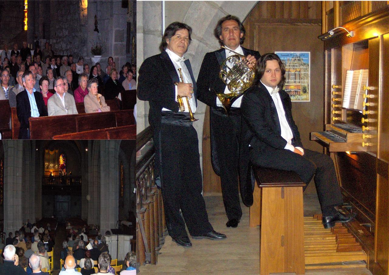 avril 2010:Trompette, cor et orgue