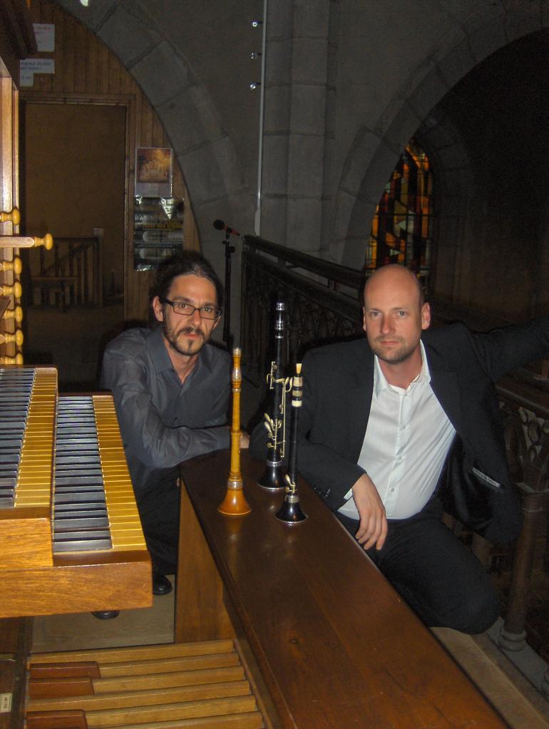 juillet 2011: Bombarde celtique et orgue
