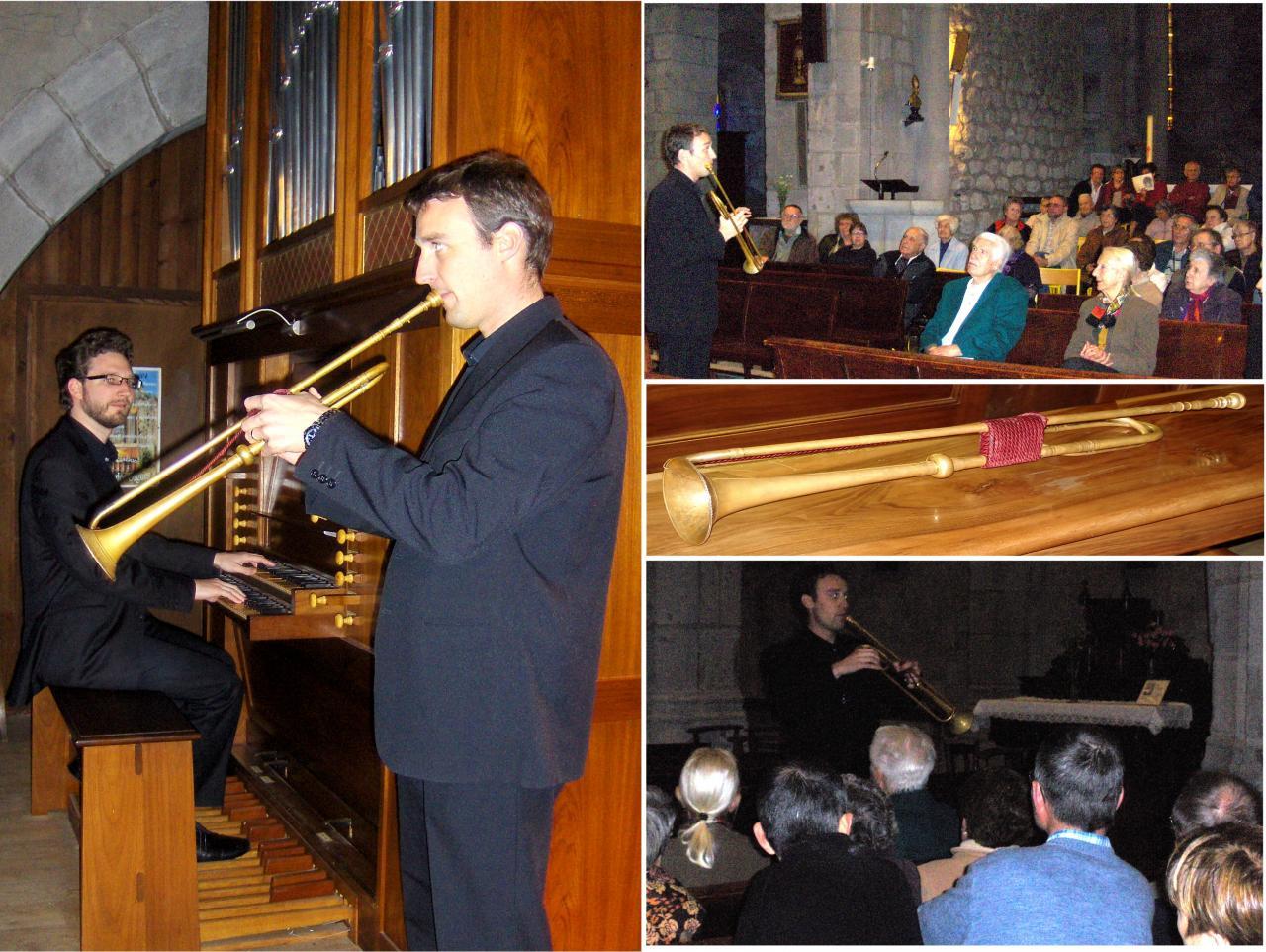 mai 2012: Trompette naturelle baroque et orgue