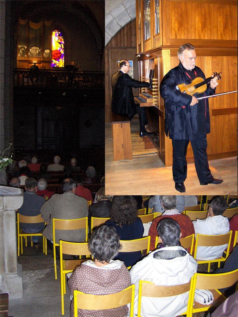 juin 2016: Violon et orgue