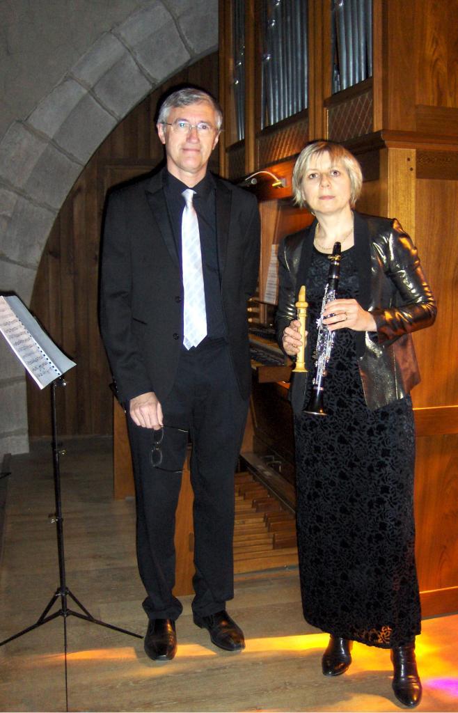 mai 2017:  Cinq Clarinettes et orgue