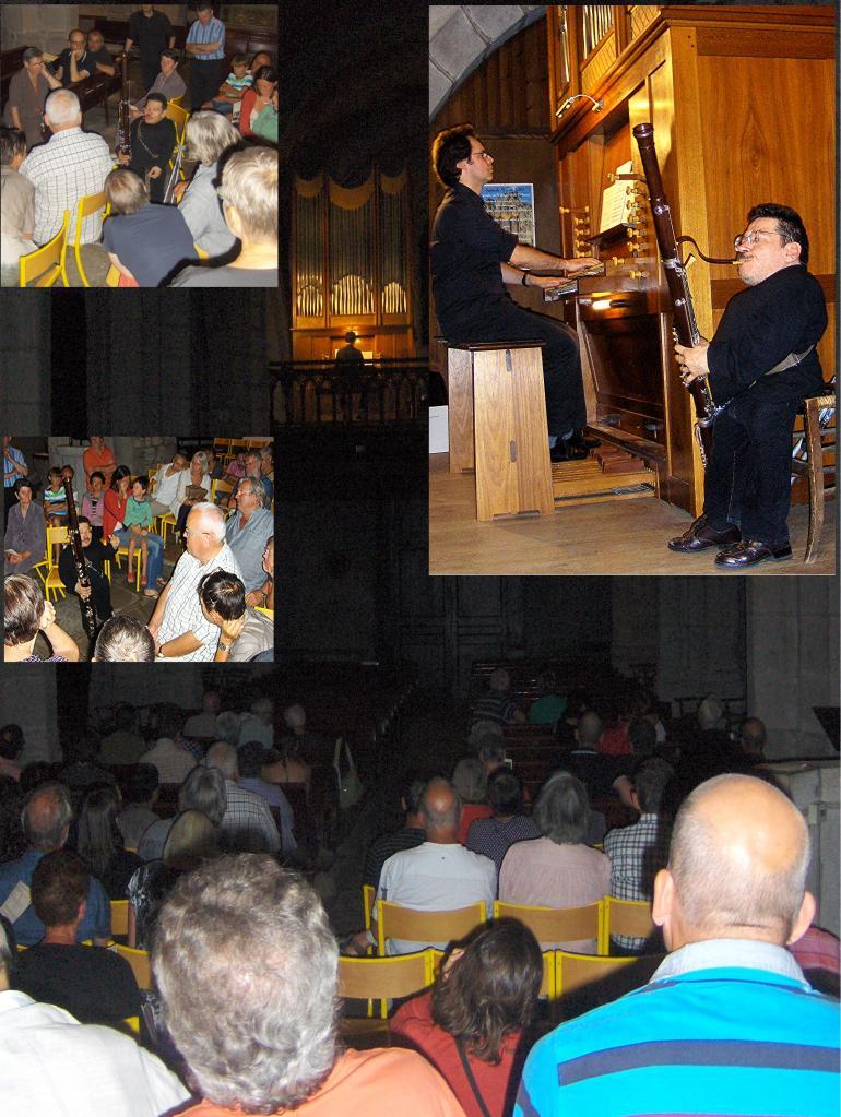 août 2013: Basson et orgue