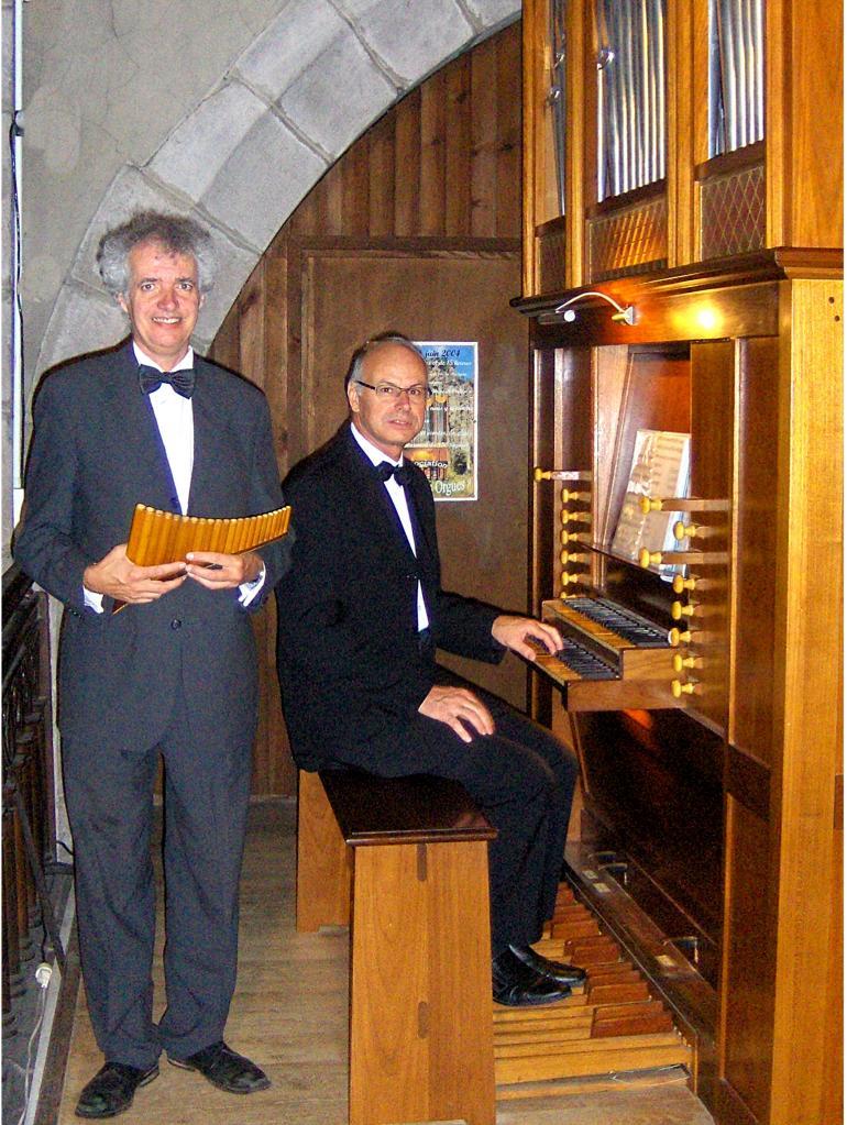 août 2014: Flûte de Pan et orgue