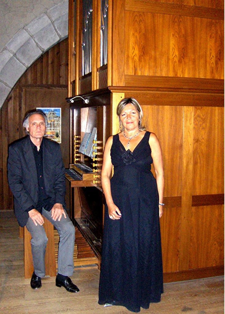 août 2016: Soprano et orgue