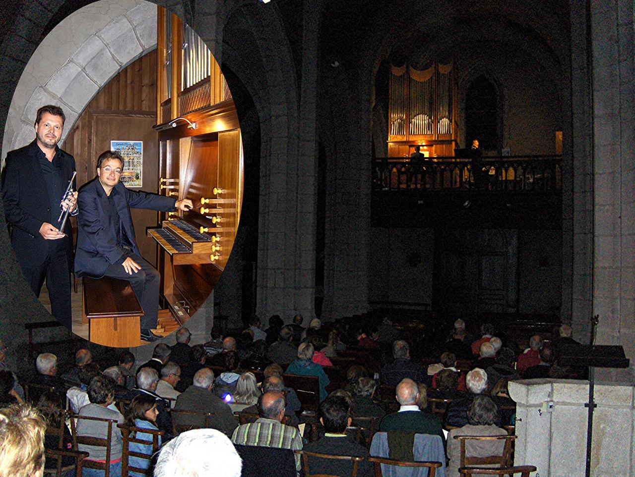 août 2017: Trompette et orgue