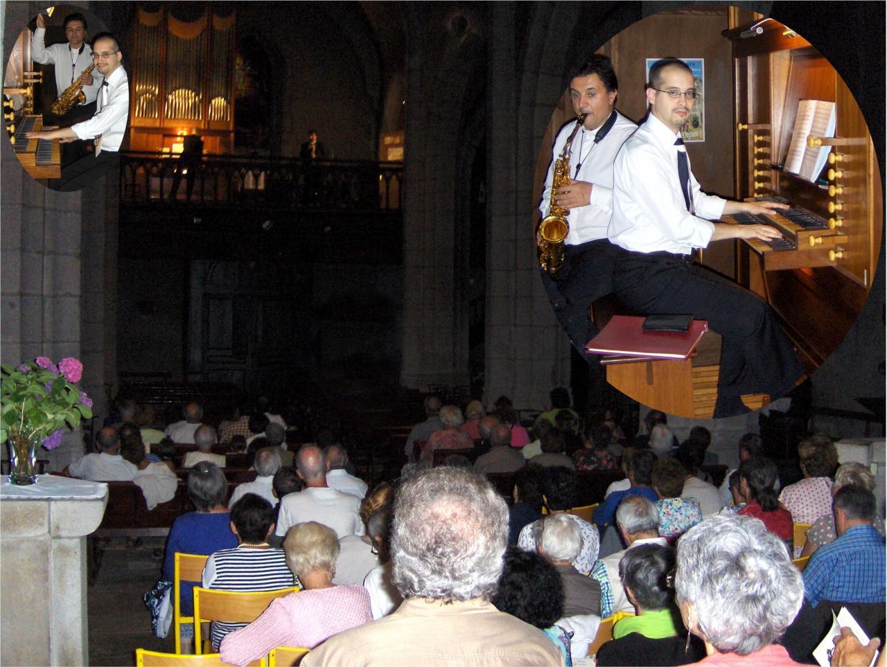 juillet 2015: Saxophone et orgue
