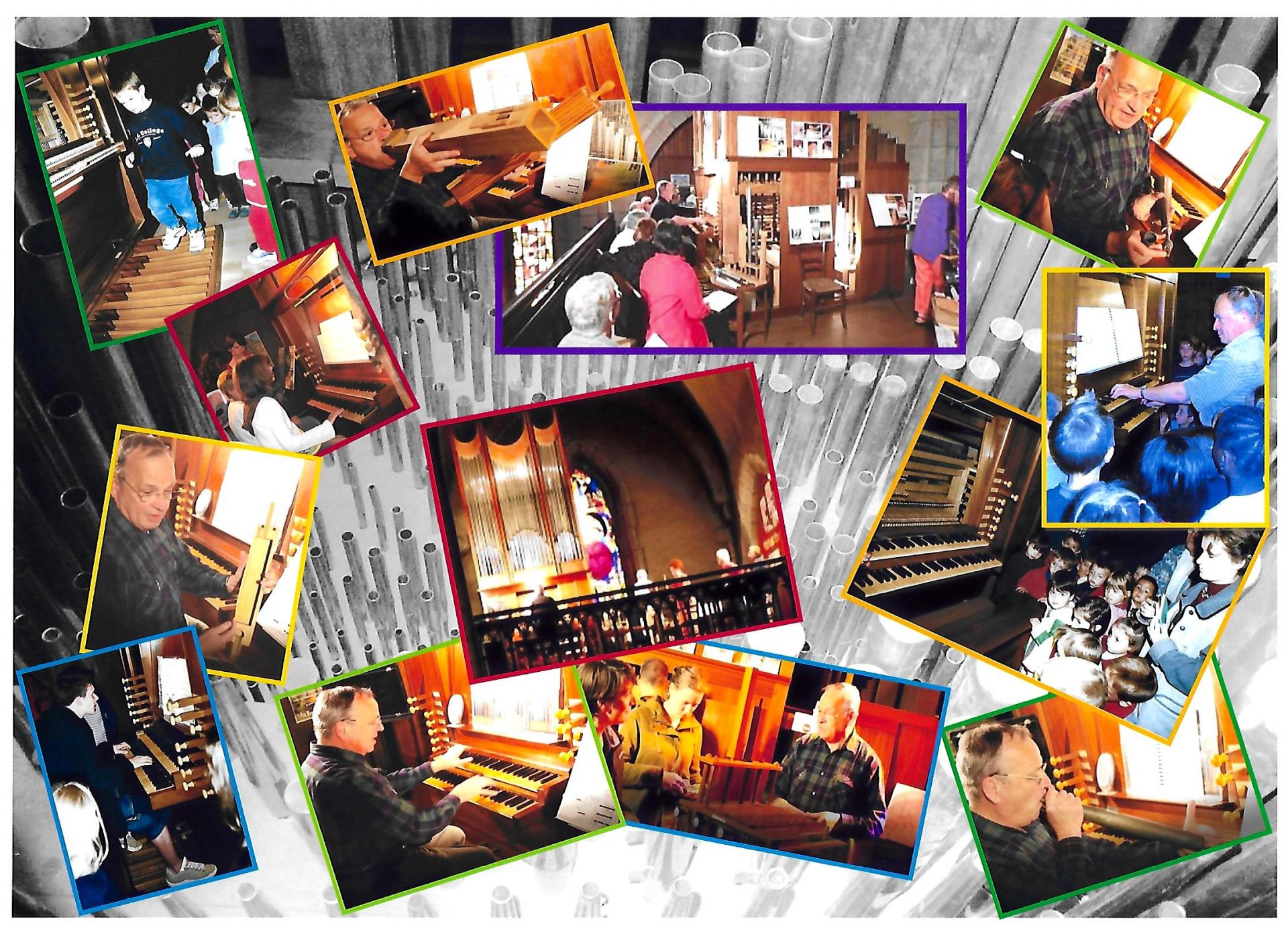 Pele mele visite de l orgue
